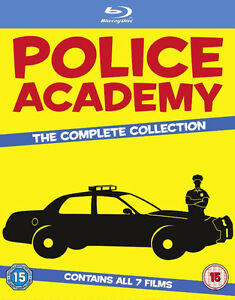 BRAND NEW FULL COLLECTION OF POLICE ACADEMY BLURAY 1-7