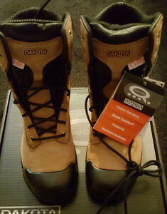 $100 · NIB SIZE 10.5 DAKOTA WORK BOOTS