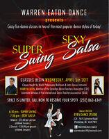 Super Swing & Sexy Salsa Dance Classes!
