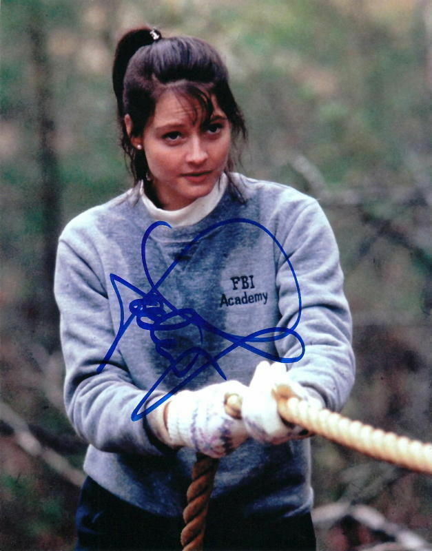 JODIE FOSTER.. The Silence of the Lambs - SIGNED
