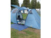 4 men tents × 2