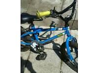Boys bike Ben 10