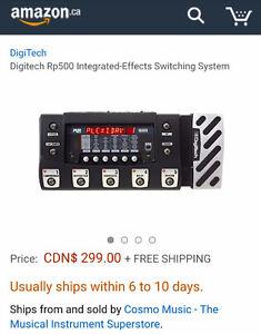 Digitech RP500 Multi effects Processor Pedal