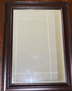 "Wood Framed Mirror 32.5""x45"""