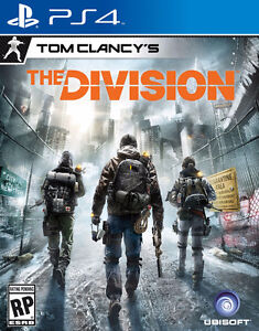 Tom Clancy The Division PS4 Mint Condition