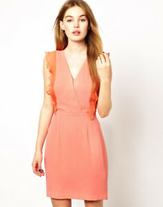 French Connection Coral Mid Summer Breeze Dress