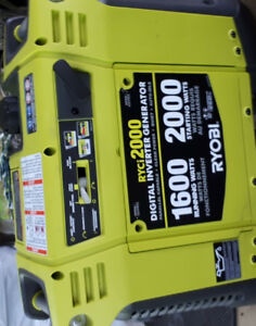 One day sale ...2000 w two months old generator ..half price 450