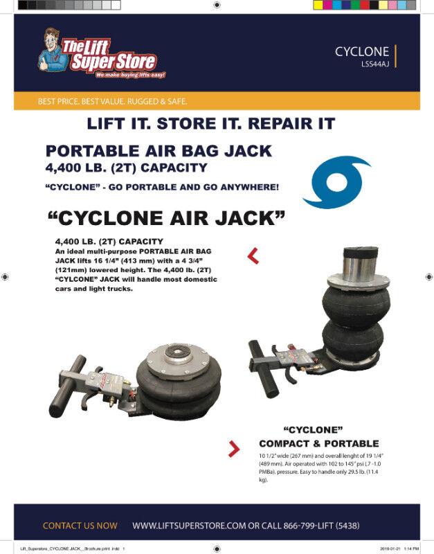 Car Air Bag 4 400 Lb Capacity Portable Jack On Sale