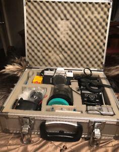 Minolta SR-T 101 avec accessoires