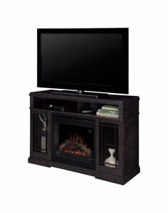 Cost: $900+ Dimplex Media Console Electric Fireplace: Raven, 47""