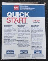 Gaf Quick Start Peel and Stick