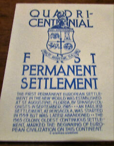 1965 QuadriCentennial First Permanent Settlement First Day Cover Kitchener / Waterloo Kitchener Area image 3