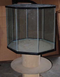 Glass Animal Cage with Swivel Stand