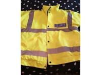 Hiviz security jacket