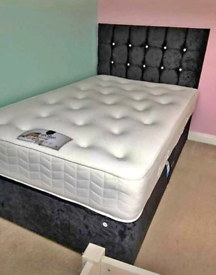 SALE!! Custom made Divan bed set with mattress and FREE DELIVERY!
