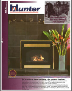 Gas Fireplace, Direct Vent - Hunter, HDV 30