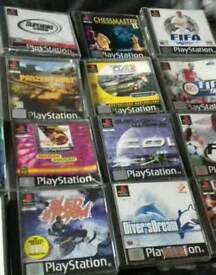 Ps1 Games they are all different prices