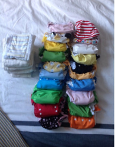 ASSORTED CLOTH DIAPERS - great condition!