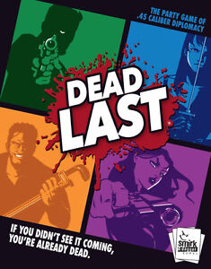 BOARD GAME - DEAD LAST - new in shrink
