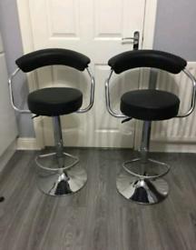 2 x Brandnew Breakfast kitchen bar stools