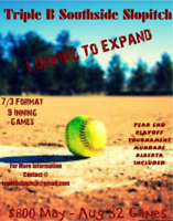 Slopitch League looking for new teams