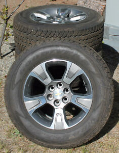 brand new stock 17' chevy colorado rims and tires