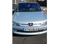 Peugeot 306 1.8 moonstone blue