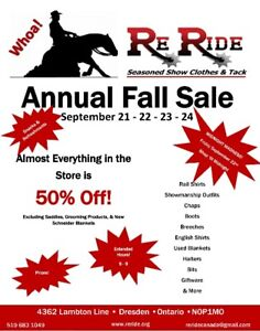 Annual Fall Sale