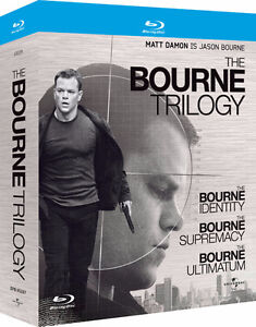 Bourne Trilogy Blu ray set