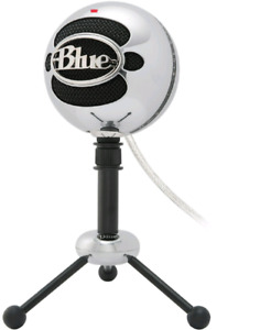 Blue Snowball Microphone (Brushed Metal)