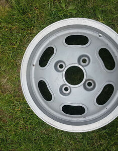 5 turtle back rims for classic vw