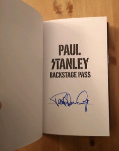 Paul Stanley autographed book signed editon 2019 Kiss