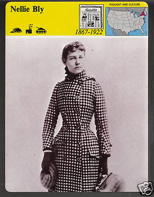 NELLIE BLY Around The World in 72 Days Adventurer Photo STORY OF AMERICA