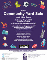 Community Yard Sale - Call for vendors