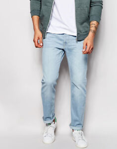 New With Tags Mens Forever 21 Light Blue Skinny Jean $20 36x32