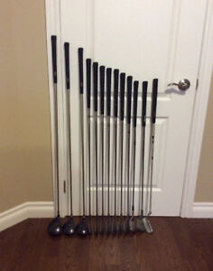 Men's Complete Set Golf Clubs - Excellent Condition