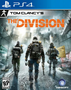 MINT USED COPY OF TOM CLANCY'S THE DIVISION FOR PS4