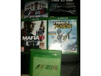 Xbox one games / all different prices / cash or