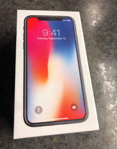 New sealed Iphone X (64gb) Space Gray