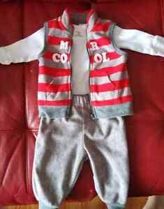 Vetements bebe garcon ensemble / Baby boy clothes set 3-6m
