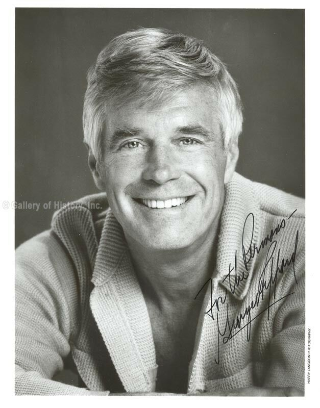 GEORGE PEPPARD - INSCRIBED PHOTOGRAPH SIGNED