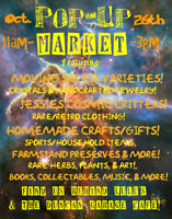 Pop Up Market Downtown Duncan This Saturday!