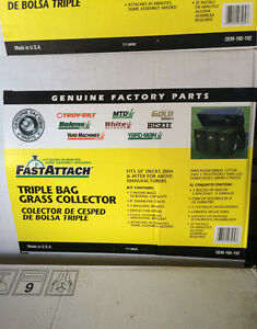 *Brand New* Triple bagger systems for riding mowers Kitchener / Waterloo Kitchener Area image 2