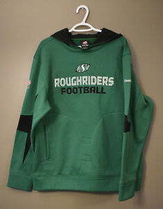 Sask Roughrider Embroidered Fleece-lined Pullover Medium