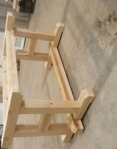 Cedar patio table