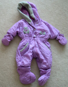 Toddler's snow suit