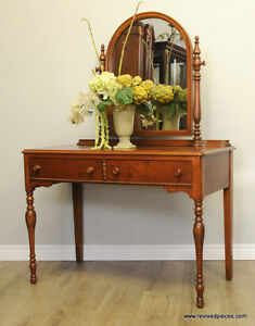 Antique Victorian Vanity by Malcolm and Souter​