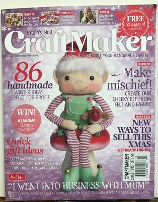 Craft Maker Quick Gift Ideas Elf Excl WITHOUT PAPERS Xmas 2014 FREE SHIPPING JB](Christmas Gift Craft Ideas)