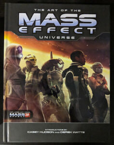 Brand New The Art of The Mass Effect Universe Hardcover