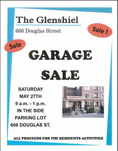 Garage Sale at The Glenshiel